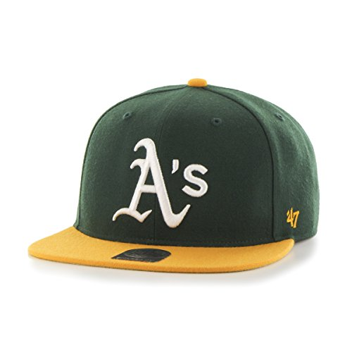47-Unisex-Baseball-Cap-MLB-Oakland-Athletics-Sure-Shot-2-Tone-47-Captain