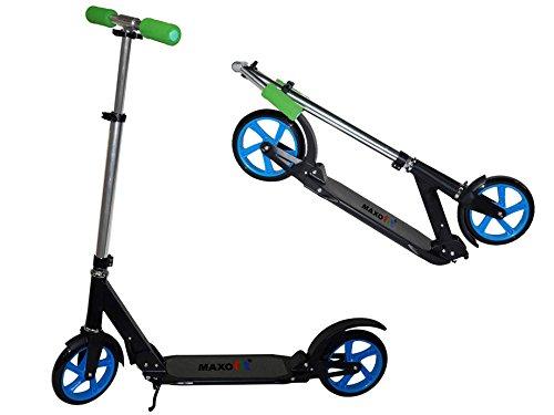 Street Scooter Big 200 black, klappbar, bis 100 kg