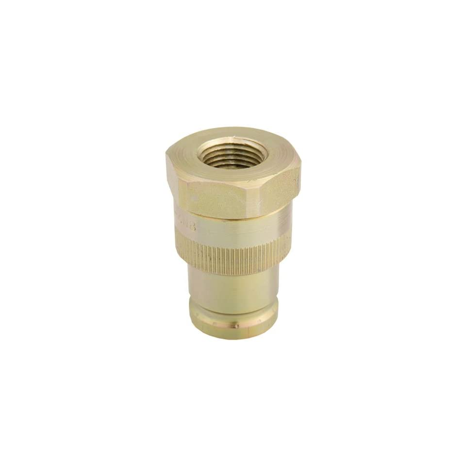 Snap Tite QD 608 Push to Connect Quick Disconnect Coupler 1/2 Coupling Size, 1/2 NPT End Fitting