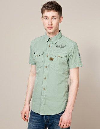 G-Star Lawrence Shirt - Green - Mens