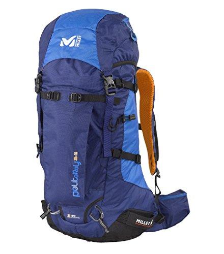 Millet Peuterey - Zaino da alpinismo, 35 + 10 litri, Blu (Bleu Ultra), 35+10 L