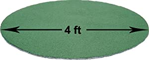 Buy GODC4848 4 Foot Diameter On Deck Mat Hitting Fungo Circle Baseball Softball by All Turf Mats