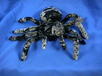 "Fiesta Toys Tarantula Spider Plush Stuffed Animal, 8.5"""