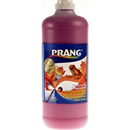 Prang Ready-to-Use Liquid Tempera Paint, 32-Ounce Bottle, Magenta (23218)