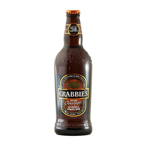 Crabbies Spiced Orange Alcoholic Ginger Beer (12 x 500ml)