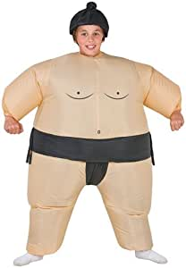 Boys Inflatable Sumo Wrestler Halloween Costume