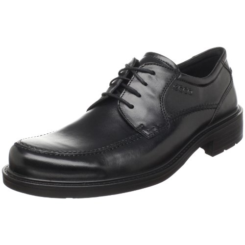 ECCO Men's Boston Lace-Up,Black,43 EU/9-9.5 M US