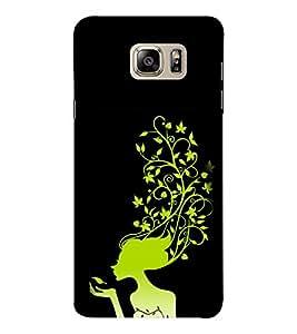 EPICCASE golden angel Mobile Back Case Cover For Samsung Note 6 (Designer Case)
