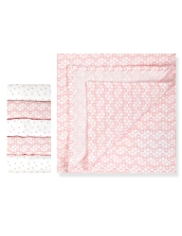5 Pack Pure Cotton Doll & Star Muslin Cloths