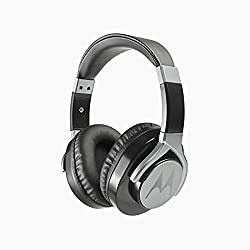 Motorola Pulse Max Wired Headphones (Black)
