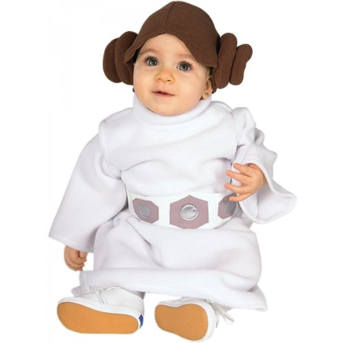 Princess Leia Costume - Infant front-1026344