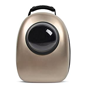 HBuir Pet Travel Bubble Backpack Astronaut Capsule Transparent Breathable Portable Bag Carrier for Cat and Dog