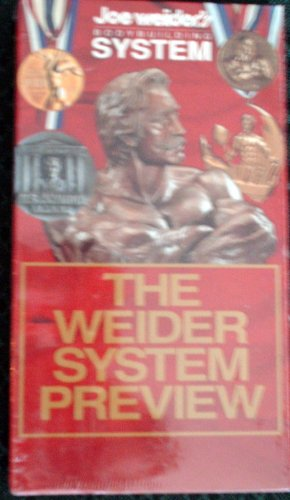 Joe Weider's Body Building System the Wider System Preview VHS