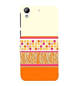 Zebra Fire Dice 3D Hard Polycarbonate Designer Back Case Cover for HTC Desire 626 G::HTC Desire 626G Plus::HTC Desire 626G+