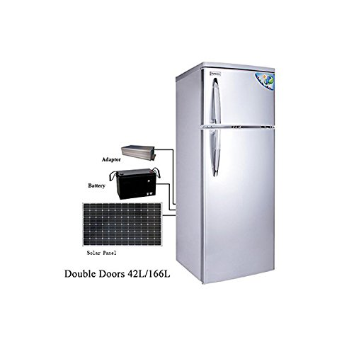 Solar 12V DC Refrigerator Both Way to Charge 42L/166L CSR--238 (Bigger Capacity)