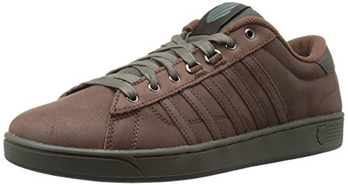 K-Swiss Men's Hoke P CMF Fashion Sneaker, Potting Soil/Beluga, 9.5 M US