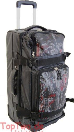 Top Travel Rollenreisetasche 64 cm - Schwarz