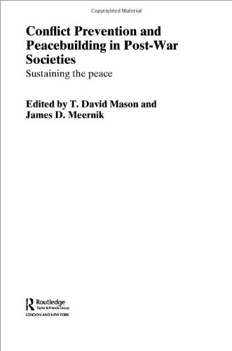 Conflict Prevention and Peacebuilding in Post-War Societies: sustaining the peace