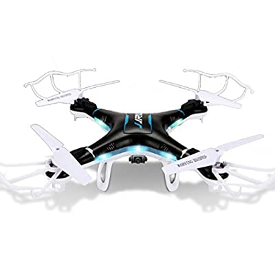 Qs QCopter Drone Quadcopter Black Drones with HD Camera 2X Battery Flight Time Mini Drone has LED lights Quad Gyrocopter is 6 Axis Drone