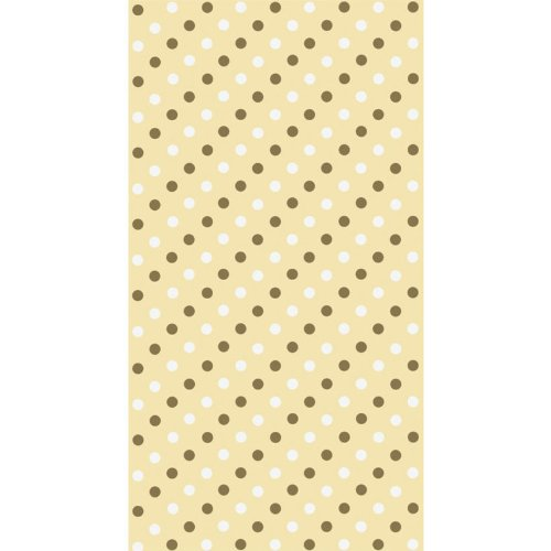 Contemporary Gold Dots 3 Ply Guest Towels