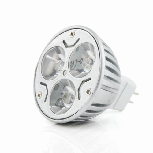 Mr16 3W Led Light Bulb Warm White Dc(12V) Source(High Performance Led)