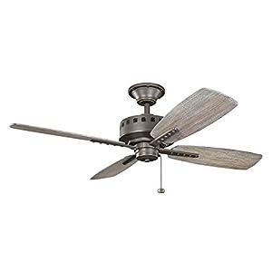 kichler 310135oz ceiling eads fan 52