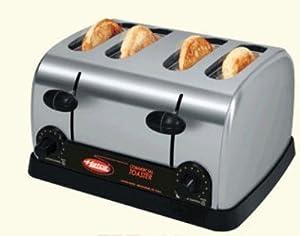 Hatco TPT Pop-Up Toaster, 4-Slots & Individual Controls, 120v, Each