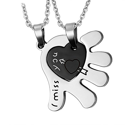 beydodo-stainless-steel-necklaces-for-unisexpendant-necklacei-miss-you-heart-hand-arrow-black-silver