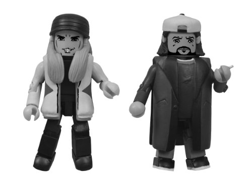Diamond Select Toys San Diego Comic-Con 2013 Jay and Silent Bob Minimates Action Figure, 2-Pack - 1