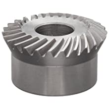 "Boston Gear SS192G Bevel Gear, 2:1 Ratio, 0.500"" Bore, 19 Pitch, 26 Teeth"