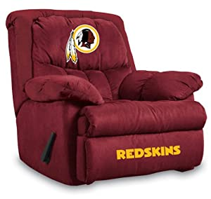 NFL Washington Redskins Home Team Microfiber Recliner by Imperial