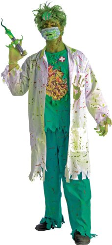 Men's Biohazard Zombie Surgeon