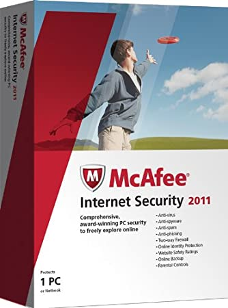 McAfee Internet Security  2011, 1 User (PC)