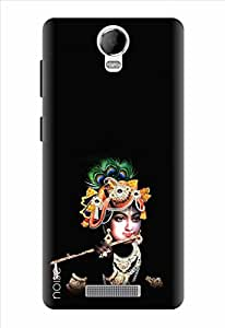Noise Designer Printed Case / Cover for Micromax Canvas Juice 2 AQ5001 / Quotes/Messages / Lord Krishna