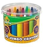 Crayola - Beginnings 24 Jumbo Crayons