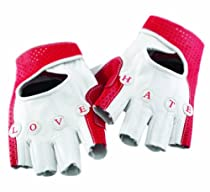 Knog Love Hate 1/2 Finger Cycling Glove (Cream/Red, XX-Large)