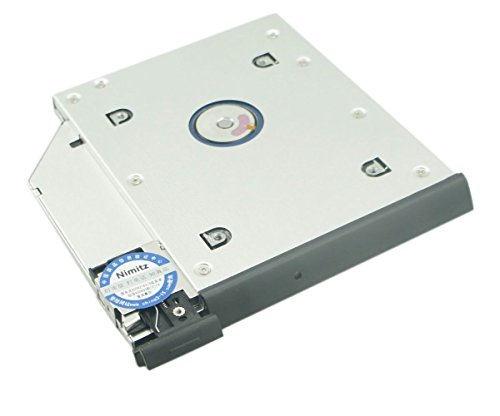 Nimitz 2nd HDD SSD Hard Drive Caddy For Dell Latitude E6440 E6540 with  ejector