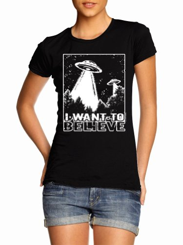 I Want To Believe T-Shirt Juniors