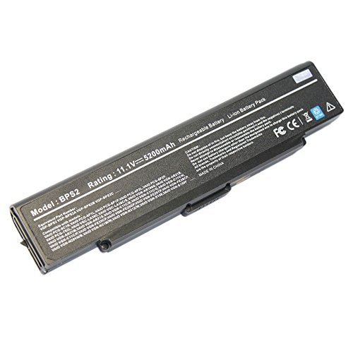 Click to buy NEW 11.1V 5200Mah Li-ION Notebook/Laptop Battery for Sony VAIO FS640 SZ340 VGN-FE53B/W VGN-N11M/W VGN-SZ36TP/C VGN-FS655FP Black - From only $55