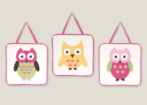 Owl Baby Bedding Set 9498 front