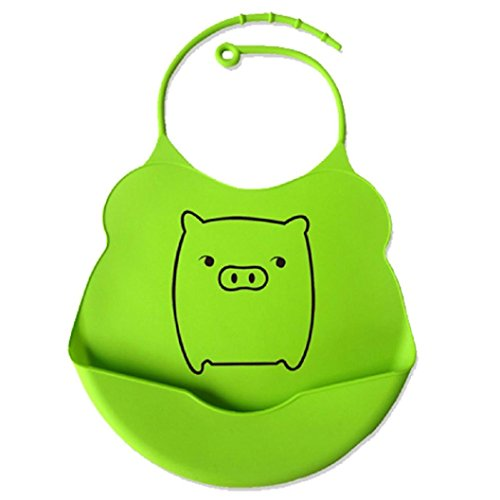 bib-lisingtool-cartoon-aprons-eat-convenient-silicone-waterproofing-bib-pig-type