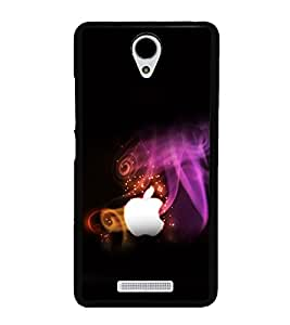 printtech Apple Back Case Cover for Xiaomi Redmi Note 2::Xiaomi Redmi Note 2 (2nd Gen)
