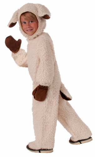 Forum Novelties Plush Cuddlee Lovable Lamb Costume, Toddler Size