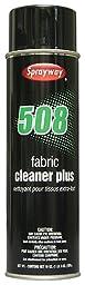Sprayway SW508 Clear Velour Shampoo Aerosol Fabric Cleaner Plus, 20 oz