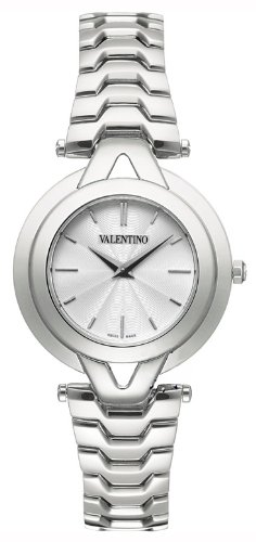 Valentino V-Valentino Stainless Steel Womens Casual Watch Silver Dial V38SBQ9901-S099