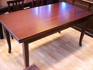 Tavolo rettangolare allungabile noce arte povera amazon for Cerco arredamento casa in regalo