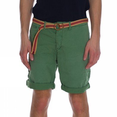 Scotch & Soda Basic Twill Men's Shorts Jade W34IN