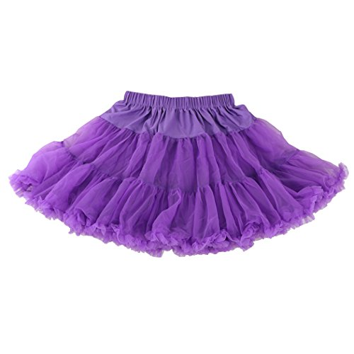 Wennikids Luxury Petticoat Perfect Adult tutu Dance Skirt/Tulle/many colors Purple (Dance Costumes From China)