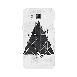 Back cover for Samsung Galaxy J2 Sci Fi Triangle