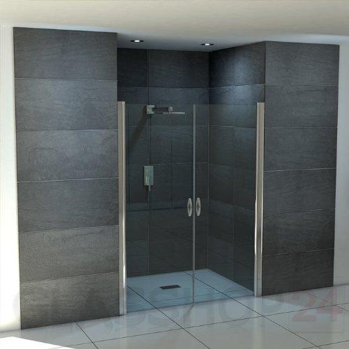 hochwertige design duschabtrennung mit lotuseffekt. Black Bedroom Furniture Sets. Home Design Ideas
